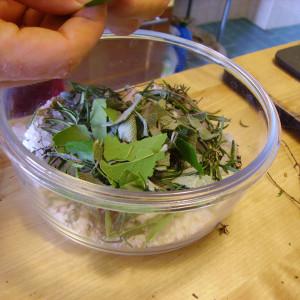 Sel et herbes