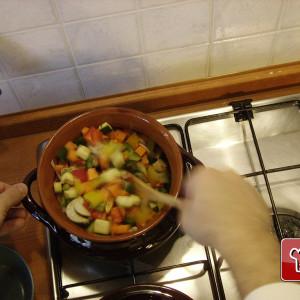 Veg in the pan