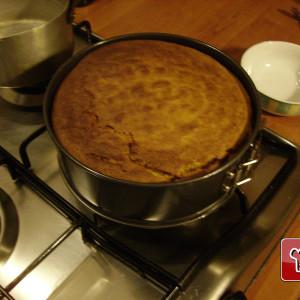 Kürbiskuchen mit Mandeln und Amaretti