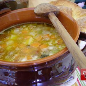 End of season minestrone