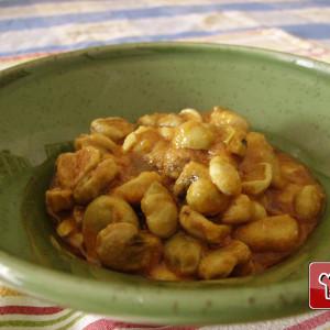 Tuscan fava beans