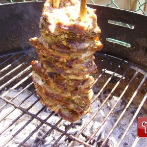 Kebab grillé