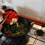 Gemüse in der Pfanne