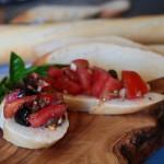 Mediterranean bruschetta