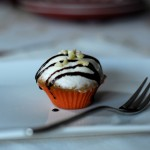 Gingerbread cupcakes con frosting alla meringa