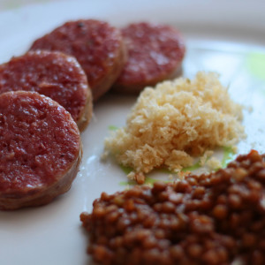 Lentils and cotechino