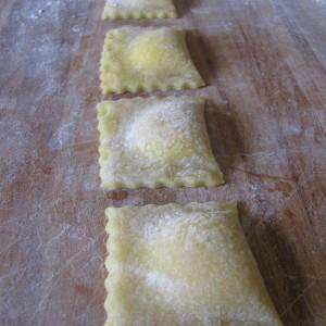 Complete the ravioli