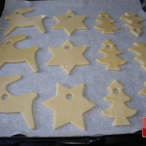 Arrange on baking tray