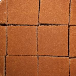 Sponge cake squares