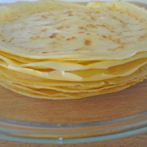 Sovrapporre le crepes