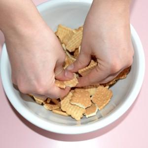 Sbriciolare i biscotti