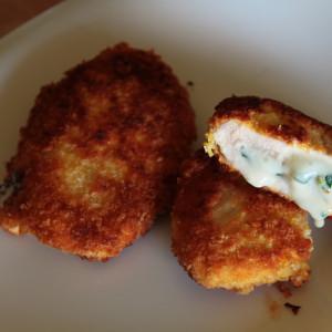 Stuffed chicken breasts 'cordon bleu'