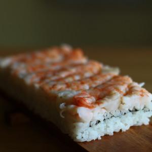 Prawn box sushi