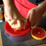 Preparazione della crema di pompelmo