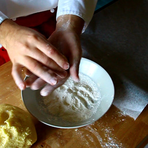 Faire les biscuits