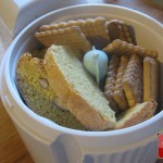 Biscotti nel mixer