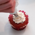 Decorate with cream topping