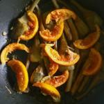 Carciofi con arancia, miele e spezie