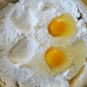 Sgusciare le uova