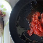 Cook the tomato