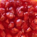 mettete a marinare le fragole