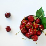 Stone the cherries