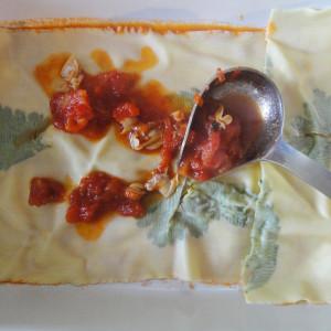 Layer of lasagna