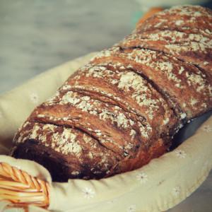 Pane di segale e cereali