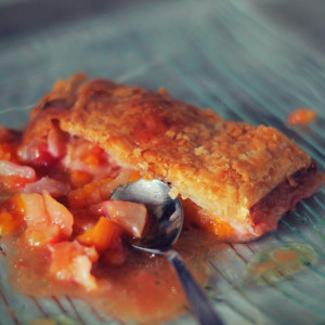 Strudel aux fruits