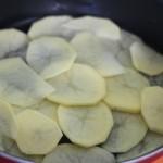 Layer of potatoes
