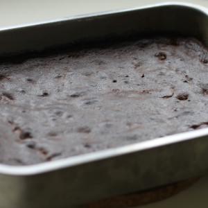 Bake your chocolate brownies