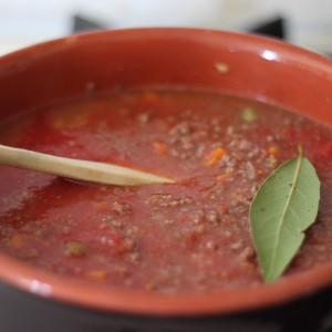 Le coulis de tomate