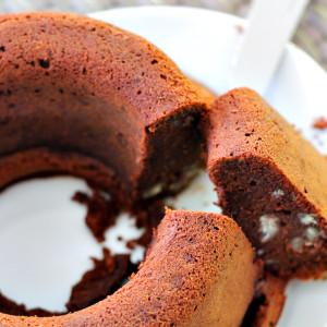 Torta morbidona al cioccolato e castagne