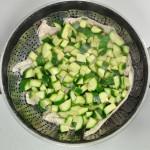 Aggiungere le zucchine