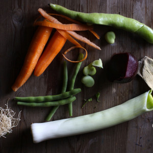 Clean the veg
