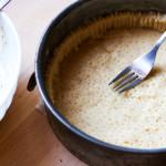 Prepare the sweet shortcrust pastry