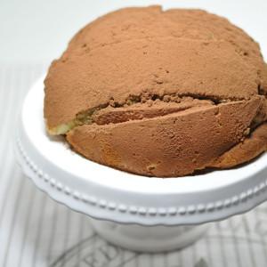 Sponge and cream pudding