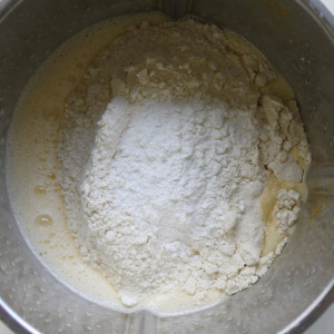 Flour and baking powder