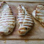 Pollo a fette